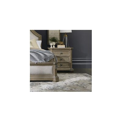 Carolin 3 Drawer Nightstand Color: Light Oak