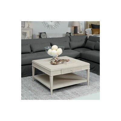 Carrie Square Coffee Table Finish: Light Oak