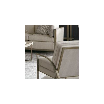 Alvina Metal Frame Armchair