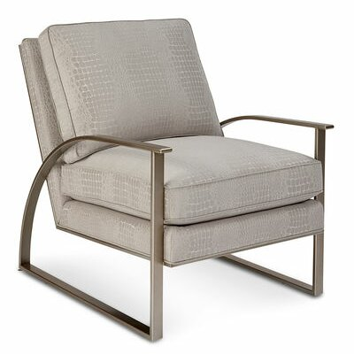 Alvina Brass Metal Armchair