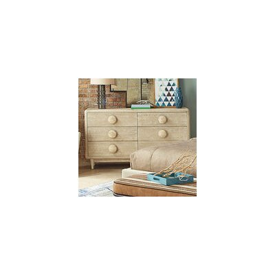 Yasmine 6 Drawer Double Dresser