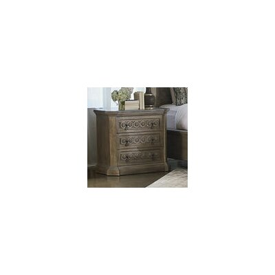 Carolin 3 Drawer Chest Color: Light Oak