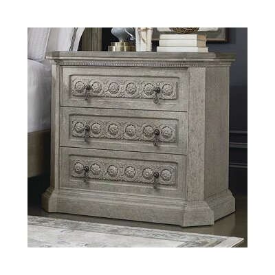 Carolin 3 Drawer Chest Color: Gray