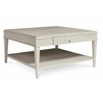Carrie Square Coffee Table Color: White