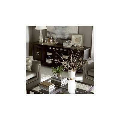 Delahunt Entertainment Console Table Finish: Coffee