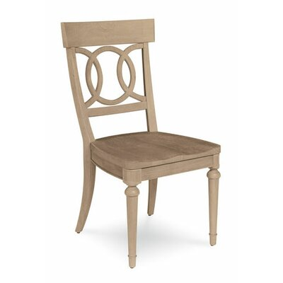 Carrie Wood Side Chair (Set of 2) Color: Light Oak