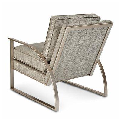 Alvina Brass Metal Frame Armchair