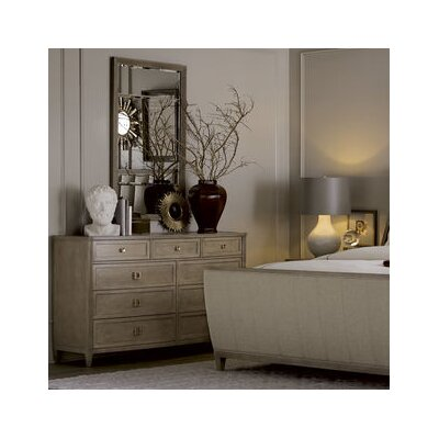 Albright 9 Drawer Dresser with Mirror