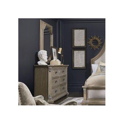 Carolin 6 Drawer Dresser with Mirror