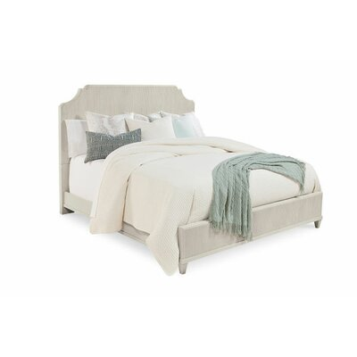 Carrie Panel Headboard Size: King/California King, Color: White