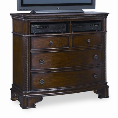 Easy furniture financing British Heritage 4 Drawer Media Che...