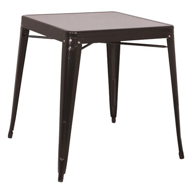 Toms Dining Table Finish: Black