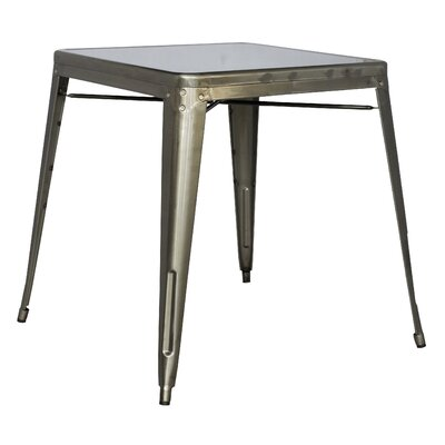 Toms Dining Table Finish: Gun Metal