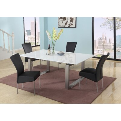 Ebony Extendable Dining Table