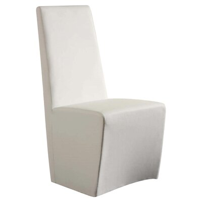 Cynthia Side Chair (Set of 2) Upholstery: White