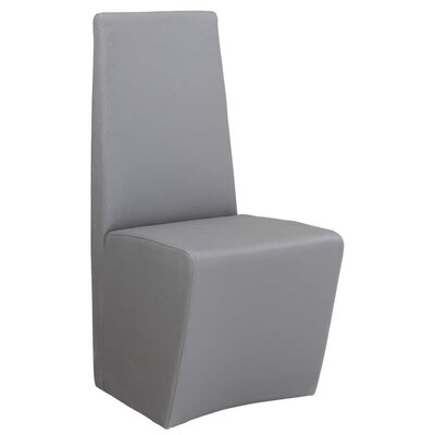 Cynthia Side Chair (Set of 2) Upholstery: Grey