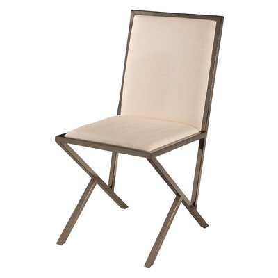 Lauren Side Chair (Set of 4) Side Chair Upholstery: Beige
