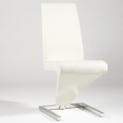 Sabrina Side Chair (Set of 2) Upholstery: White