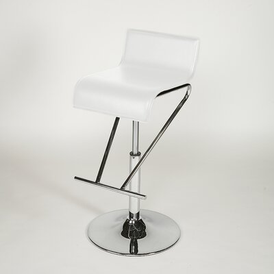 Rent to own Adjustable Swivel Stool in White (S...