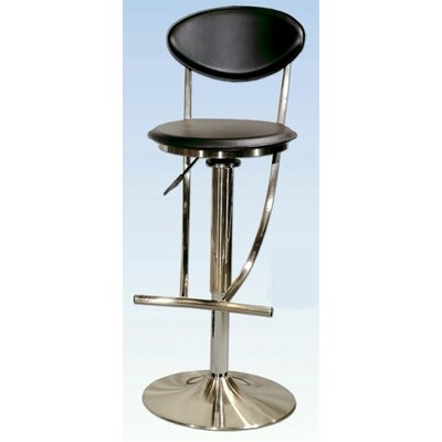 Easy financing Adjustable Swivel Stool in Nickel P...