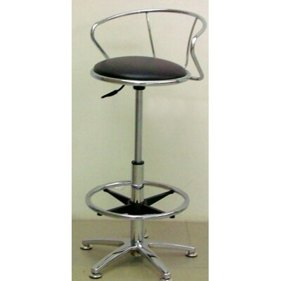 Financing Adjustable Swivel Stool in Chrome (...