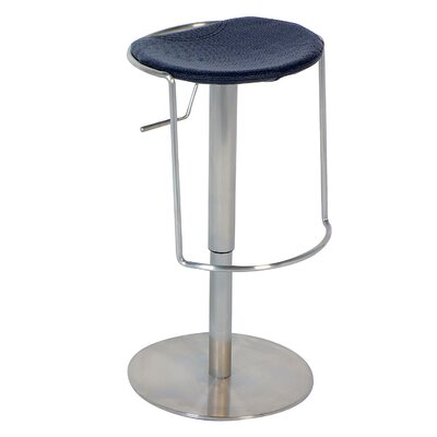 No credit financing Adjustable Backless Swivel Stool in...