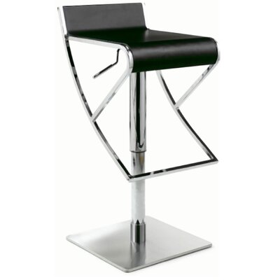 Credit for Adjustable Swivel Stool with Rectan...