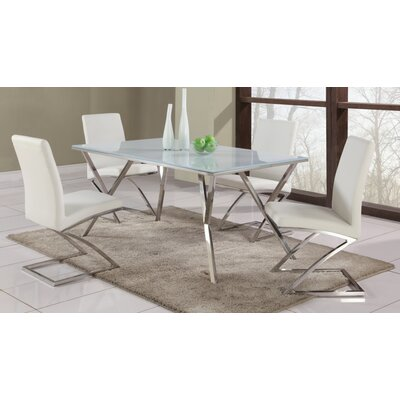 Decimus 5 Piece Metal Dining Set