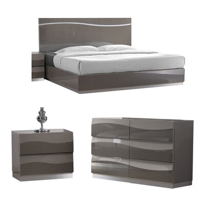 Clayfield Platform Configurable Bedroom Set