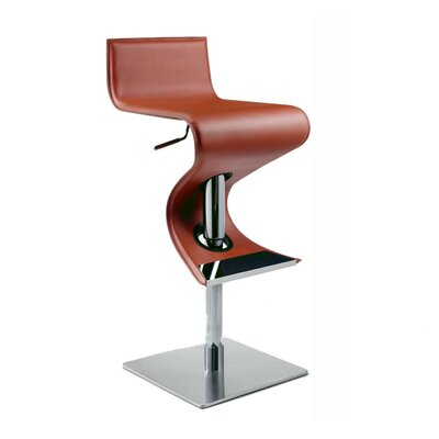Bad credit financing Adjustable Swivel Stool in Rust...