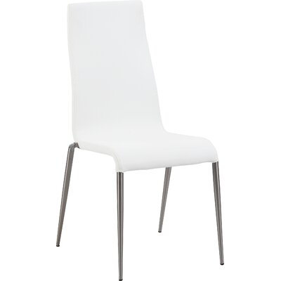 Remy Side Chair (Set of 4) Side Chair Upholstery: White