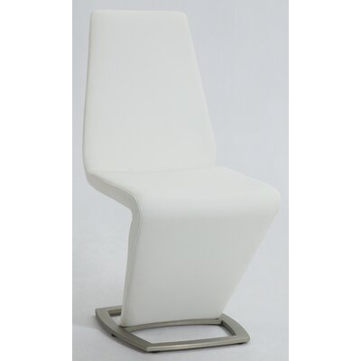 Marielle Side Chair Upholstery: White