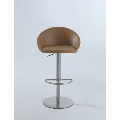 Jillian Adjustable Height Swivel Bar Stool