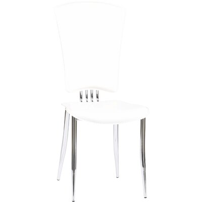 Tracy Side Chair (Set of 6) Upholstery: White