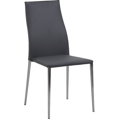 Elsa Side Chair (Set of 4) Upholstery: Grey