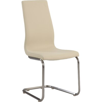 Zoey Side Chair (Set of 2) Upholstery: Beige