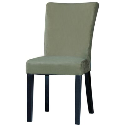 Monica Parson Chair (Set of 2) Upholstery: Green
