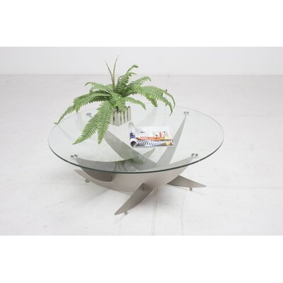 Cailinn Round Tempered Clear Glass Top