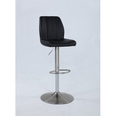 Flournoy Pneumatic Adjustable Height Swivel Bar Stool