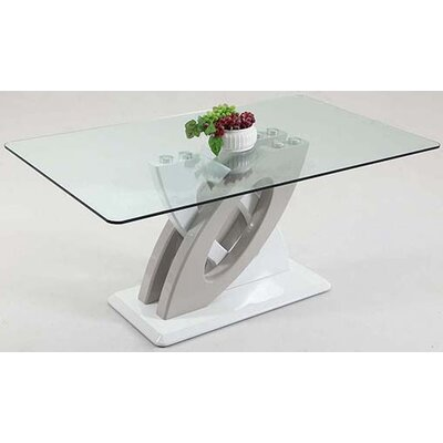 Orianna Clear Tempered Glass Table Top