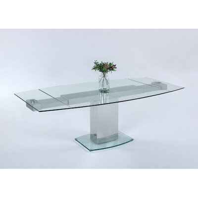 Jasen Clear Tempered Glass Base