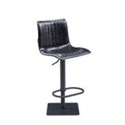 Iniguez Pneumatic Adjustable Height Bar Stool