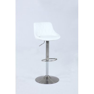 Florio Pneumatic Adjustable Height Swivel Bar Stool