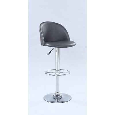 Cayman Pneumatic Rounded Back Adjustable Height Swivel Bar Stool