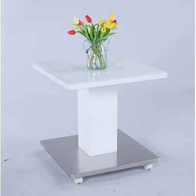 Solvi Glass Square Top w/ Glass Inset