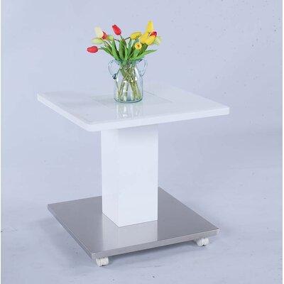 Glynnis White Pedestal w/ Floor Plate