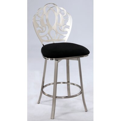 Financing for Microfiber Stool with Laser Cut Bac...