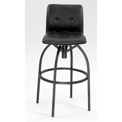 No credit check financing Modern Swivel Stool with Upholstere...