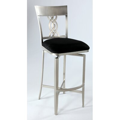 Lease to own Angelina Microfiber Stool Size: Cou...