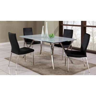Decimus 5 Piece Rectangular Dining Set